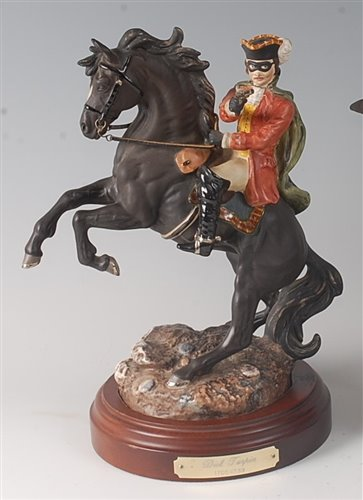 Lot 22-A Royal Doulton figure of Dick Turpin, HN3272, No....