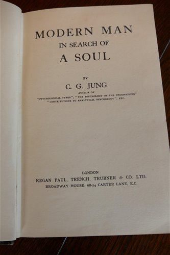 Lot 1015-JUNG, C.J., Modern man in Search of a Soul,...