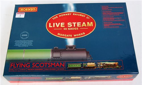 Lot 2-A Hornby live steam 00 gauge boxed set 'The...