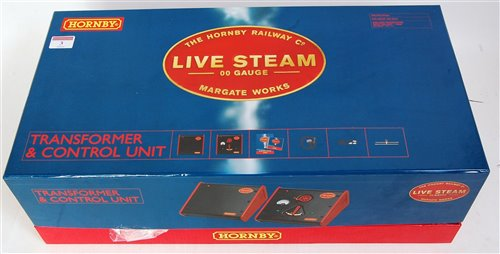 Lot 3-A Hornby 00 gauge live steam boxed set...