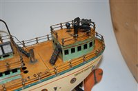 Lot 3176-Bing (GBN) First Series clockwork ocean liner...