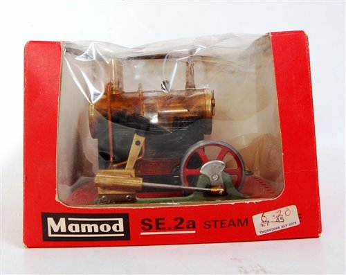 Lot 12-A Mamod SE2A stationary steam plant comprising of ...