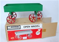 Lot 13-A Mamod TE1A boxed traction engine, appears as...