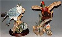 Lot 1-A modern Franklin Mint porcelain model of a...