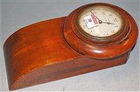 Lot 30-An early 20th century miniature mahogany cased...