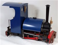 "Lot 35-Maxitrak 7.25 Inch 0-4-0 Saddle Tank Locomotive, ""..."