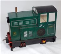 "Lot 43-7.25 Gauge 0-4-0 diesel Shunter ""Doris"", fitted..."