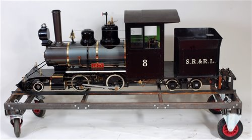 Lot 44 - Maxitrak 7.25 inch gauge 2-4-4 Bridgton and...