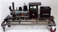 Lot 44-Maxitrak 7.25 inch gauge 2-4-4 Bridgton and...