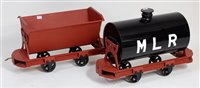 Lot 45-Pair of 5 inch gauge rolling stock, to include 2...