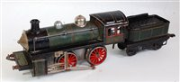 Lot 47-Karl Bub 0-4-0 Clockwork Locomotive and Tender,...