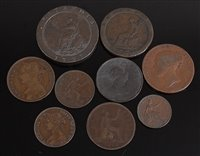 Lot 2014-Great Britain, collection of nine George III and...