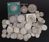 Lot 2017-Mixed lot of mainly British 19th century and...