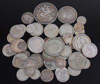 Lot 2019-Great Britain, mixed lot of 18th century and...