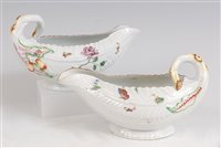 Lot 1086 - A pair of mid-18th century Worcester porcelain...