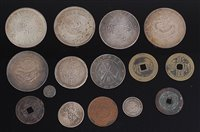Lot 2050 - China, collection of 15 Chinese coins, to...