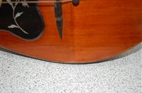 Lot 501-A cased Italian mandolin, stamped Privativa - De...