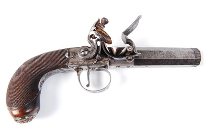 Lot 228 - A cased pair of 19th century travelling pistols