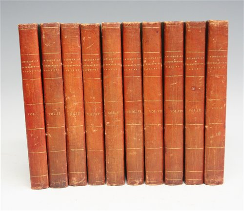 Lot 1004-Storer, J & Greig, J. Antiquarian and...