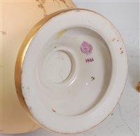 Lot 1053 - *A Royal Worcester porcelain blush ivory vase,...