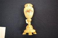 Lot 1054 - *A Royal Worcester porcelain blue ivory...