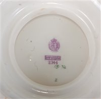 Lot 1056 - *A large Royal Worcester bowl, of squat...
