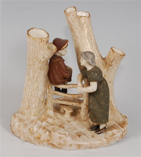 Lot 1059 - *A Royal Worcester Kate Greenaway Country...