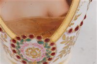 Lot 1073 - *A 19th century Vienna porcelain vase, of...