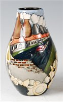 Lot 1-A limited edition Moorcroft pottery vase in the...