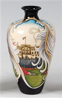 Lot 10-A limited edition Moorcroft pottery vase...