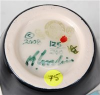 Lot 10-A limited edition Moorcroft pottery vase...