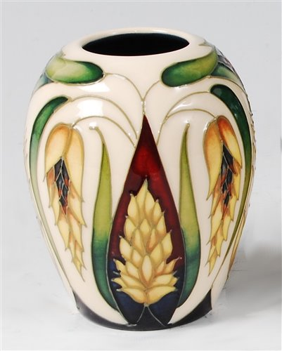 Lot 12-A small Moorcroft pottery vase in the Ceres...