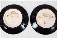 Lot 18-A Moorcroft pottery circular pin tray in the...
