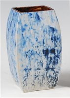 Lot 60-A 1930s Martinware stoneware vase, of...