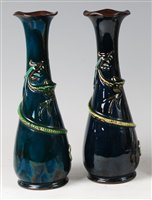Lot 63-A pair of early 20th century Devon glazed...