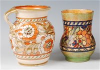 Lot 68-Charlotte Rhead for Crown Ducal - a 1930s...
