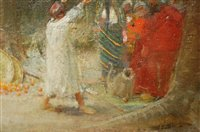 Lot 1330 - *Albert Goodwin RWS (1845-1932) - The Happy...
