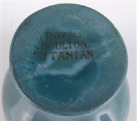 Lot 36-An early 20th century Royal Doulton Titanian...