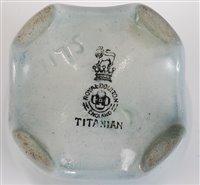 Lot 38-An early 20th century Royal Doulton Titanian...