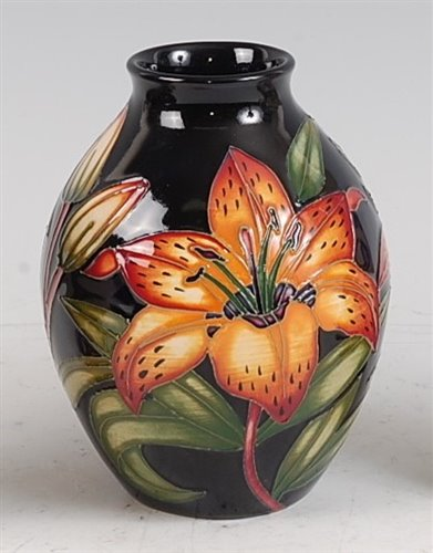 Lot 20-A limited edition Moorcroft pottery vase in the...