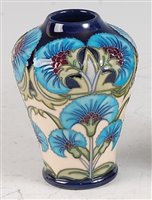 Lot 22-A Moorcroft pottery vase in the Persian Fan...
