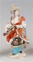 Lot 1098 - A late 19th century Meissen porcelain figure...