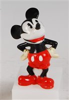 Lot 71-A Mickey Mouse novelty porcelain toothbrush...