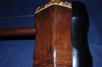 Lot 510-A cased Chinese two-stringed bowed Erhu with bow ,...