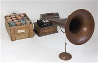 Lot 519-A circa 1900 Edison Standard Phonograph, Model C, ...