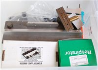 Lot 10-Two plastic boxes containing variety of tools...