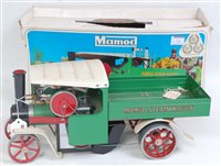Lot 12-Mamod steam wagon appears unused but will benefit ...