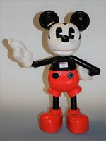 Lot 22-A large painted wooden model of Disney's Mickey...