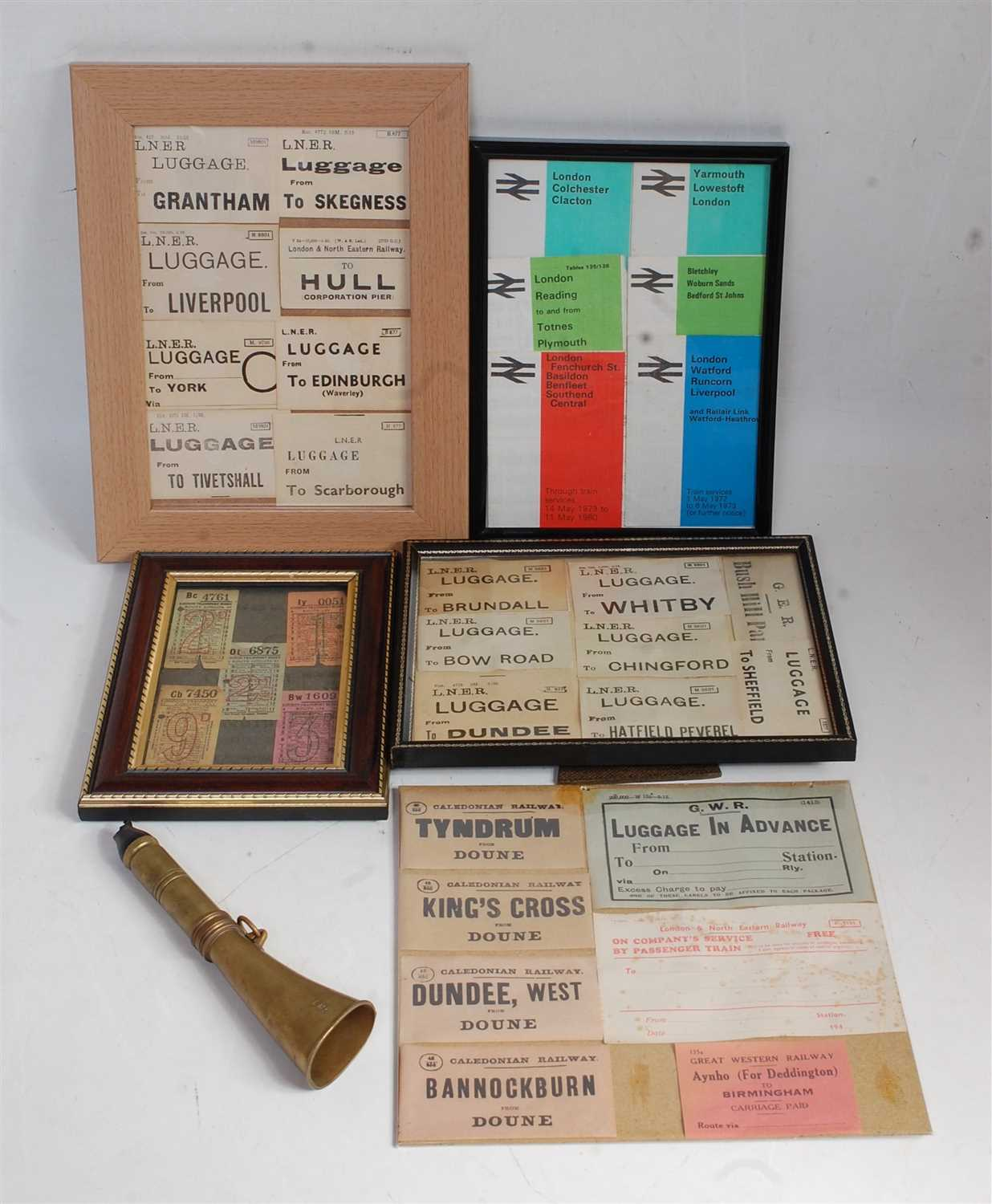 Lot 17-An early 20th century tinplate stationary steam...