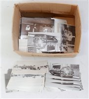 Lot 42-One box containing a quantity of postcards...